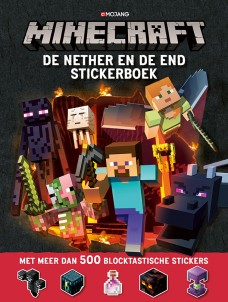 Minecraft Stickerboek: de Nether en de End