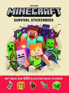 Minecraft Survival Stickerboek