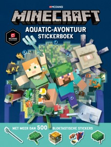 Minecraft Aquatic-avontuur stickerboek